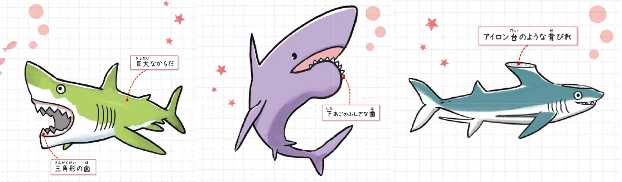 「驚きの形も古代ザメの魅力」本誌紙面