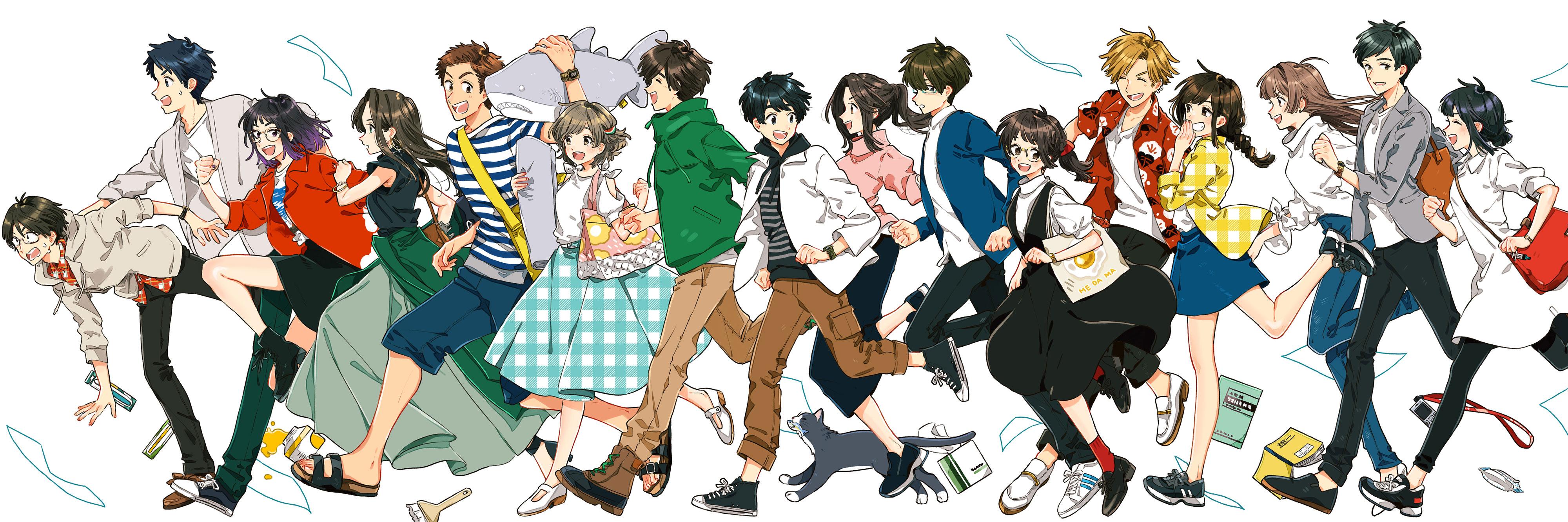 「16学部の個性豊かなキャラクターたち」画像