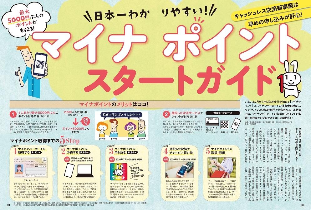 「日本一わかりやすいマイナポイントスタートガイド」紙面