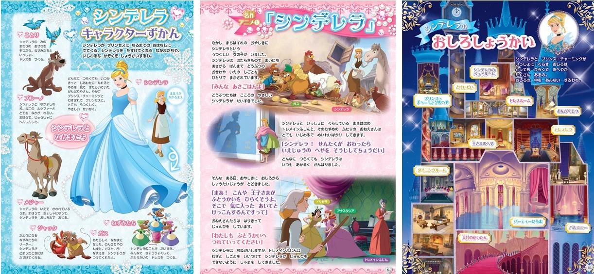「映画やアニメの「シンデレラ」3作品」紙面