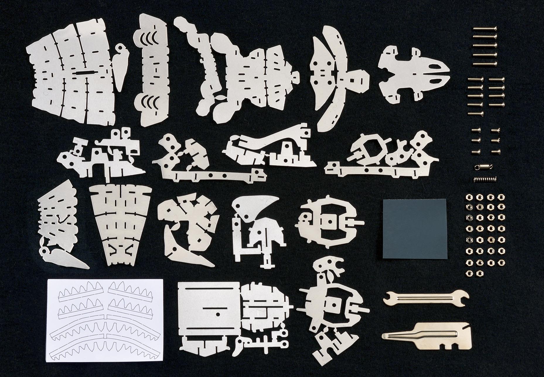 「平面のアルミ板 パーツ」画像