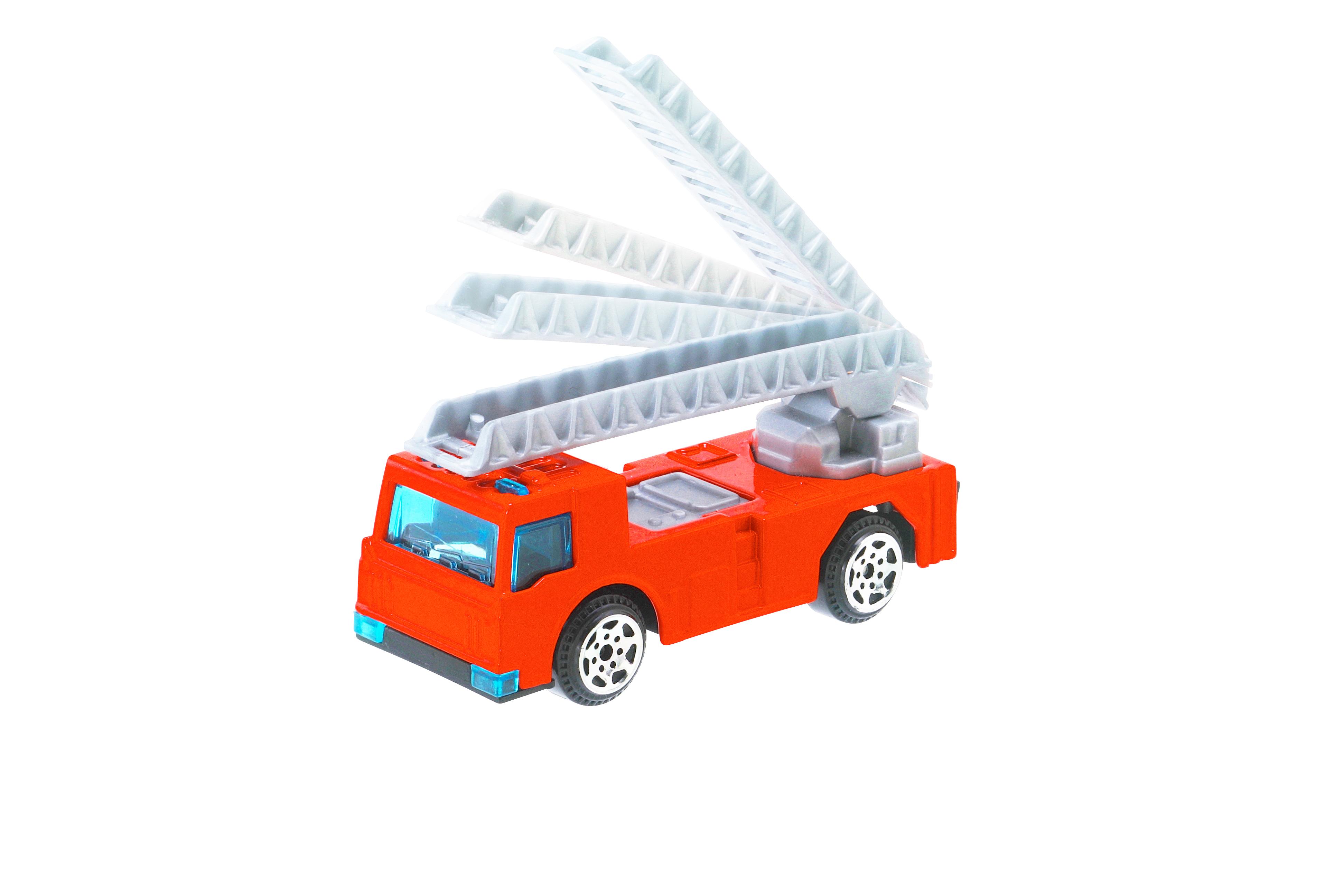 「ミニカーはしご車」画像