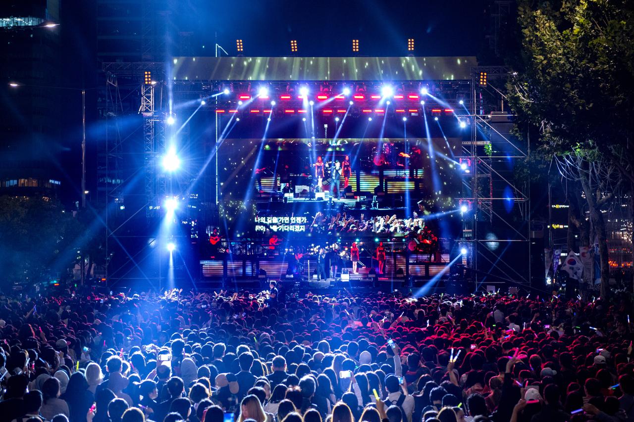 「「江南フェスティバル」で開催されるK-POPコンサート」画像