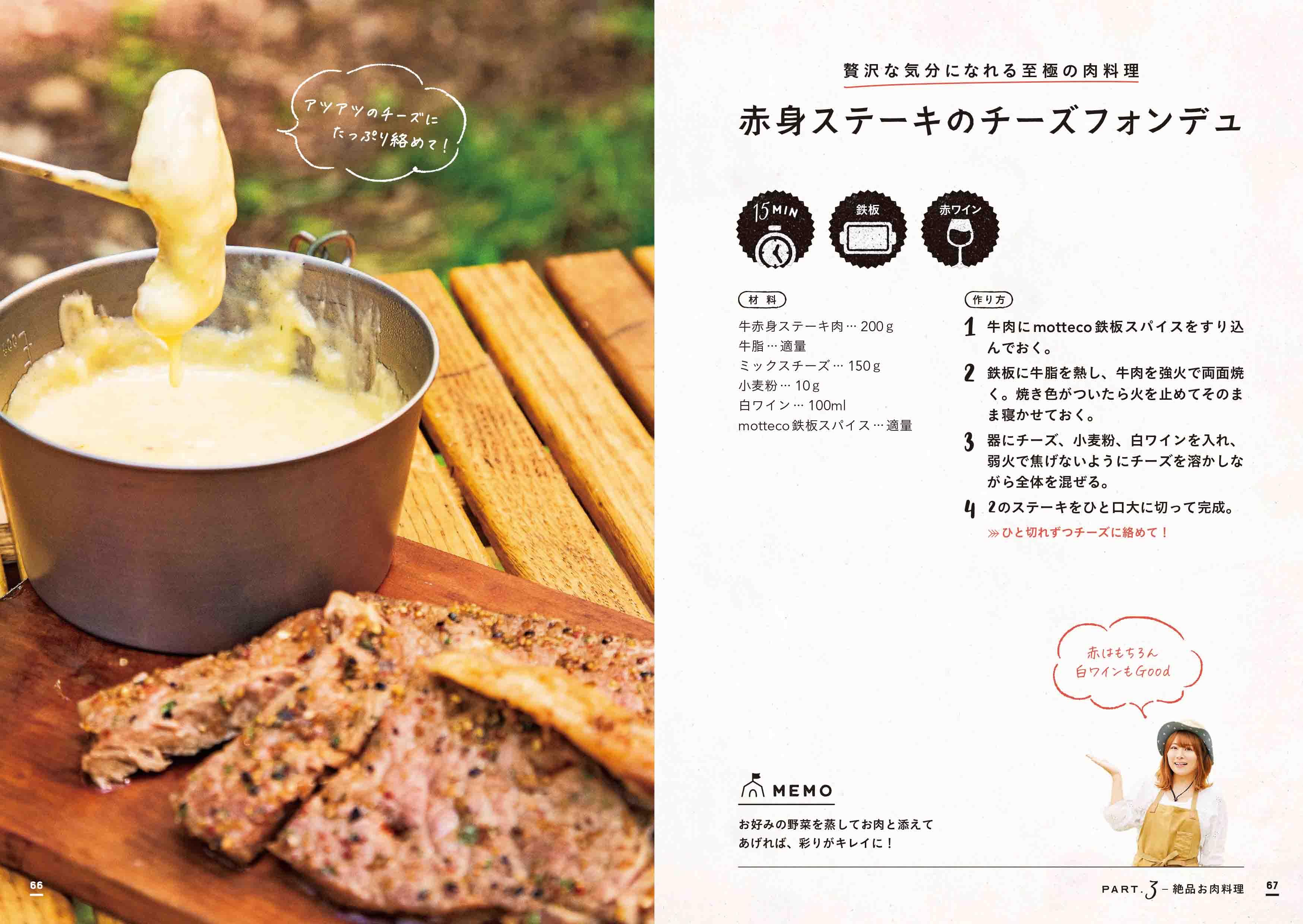 「お酒がすすむ 絶品お肉料理レシピ」紙面