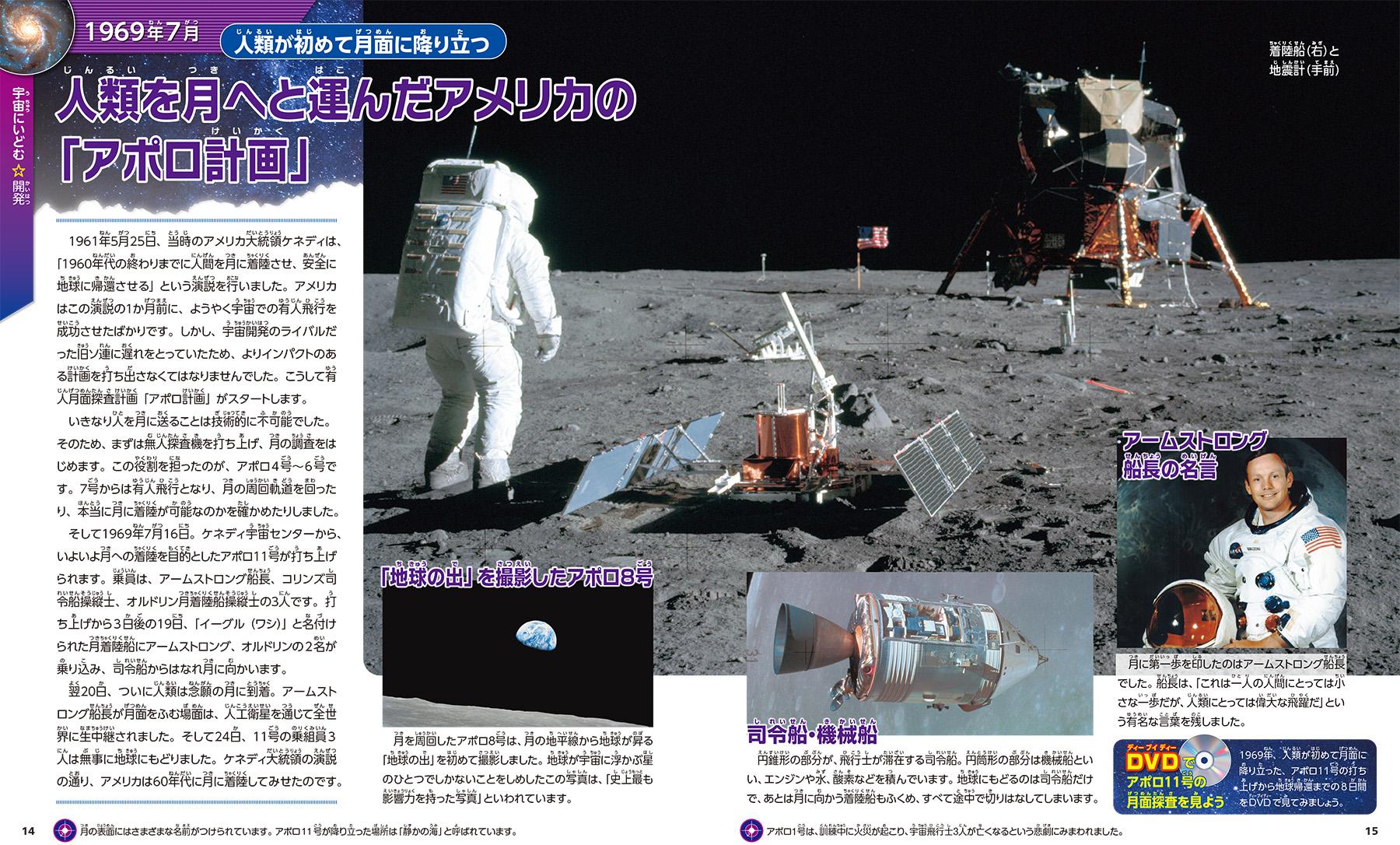 「アポロ計画」紙面