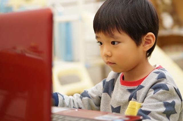 「オンライン学習の様子」イメージ画像