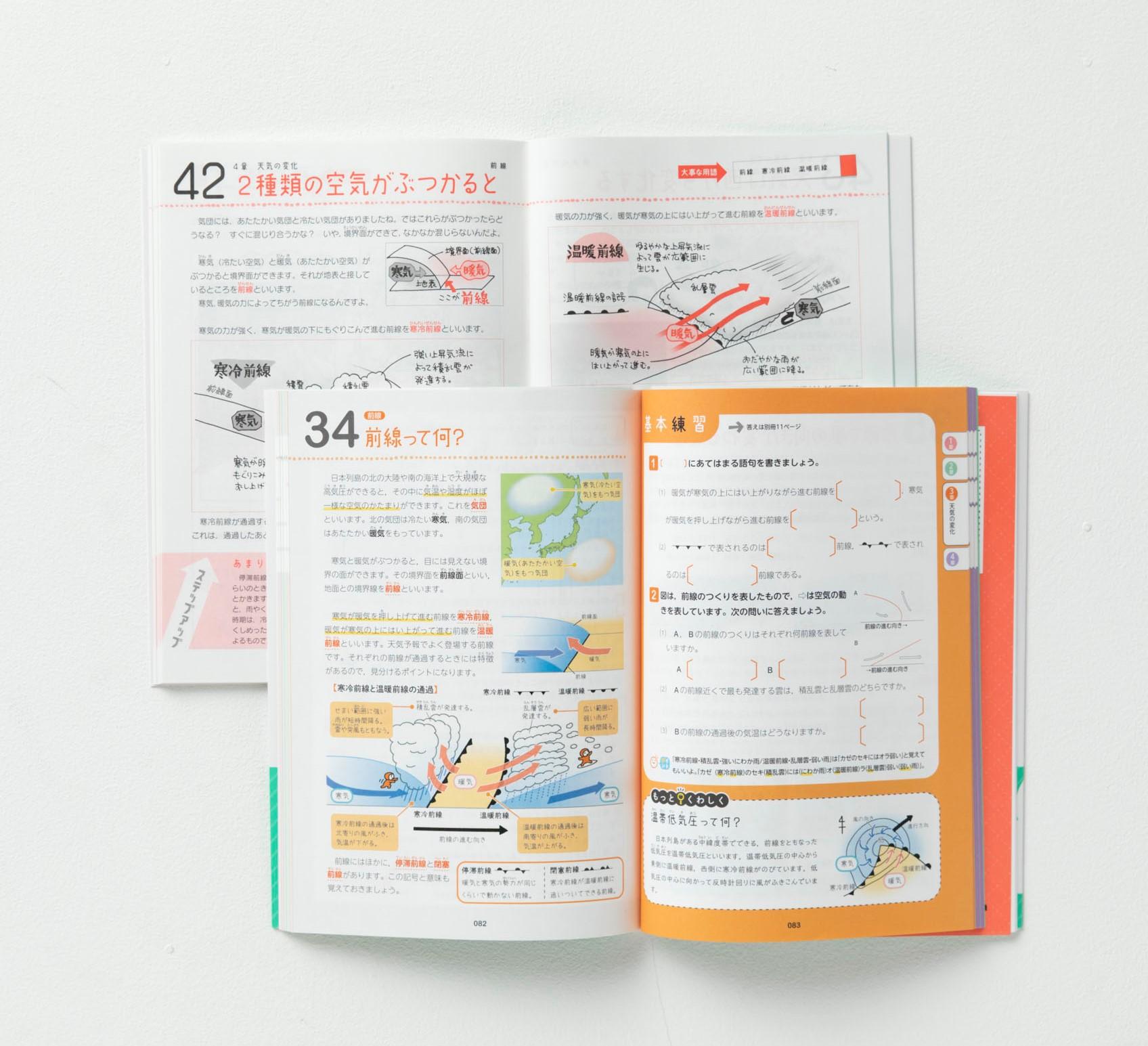 「区別しやすい色づかいと、矢印の形などのデザイン」紙面