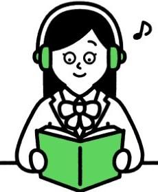 「音声で概要を聴けることも本書の特長です」イメージ画像