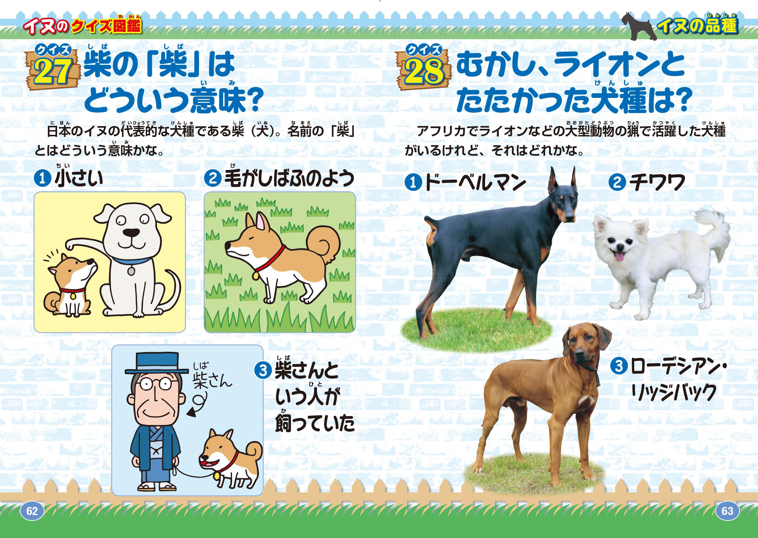 「イヌがもっと好きになる おもしろ雑学」紙面