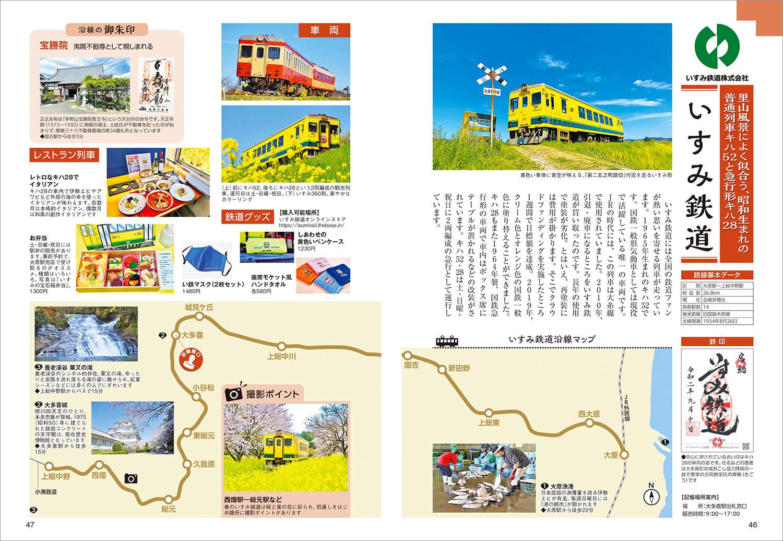 「各鉄道会社の紹介ページ」紙面