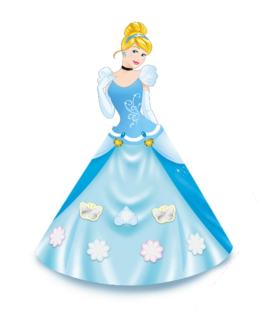 「ドレス姿のシンデレラのメモ」画像