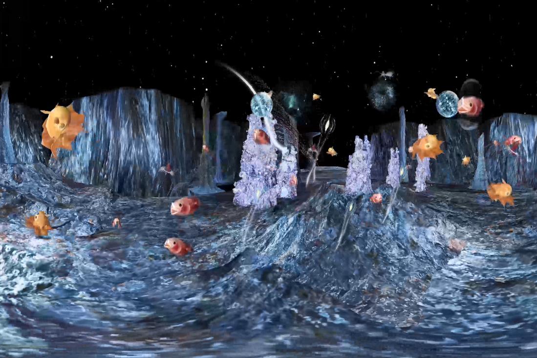 「深海には奇妙な生物たちがいっぱい」画像