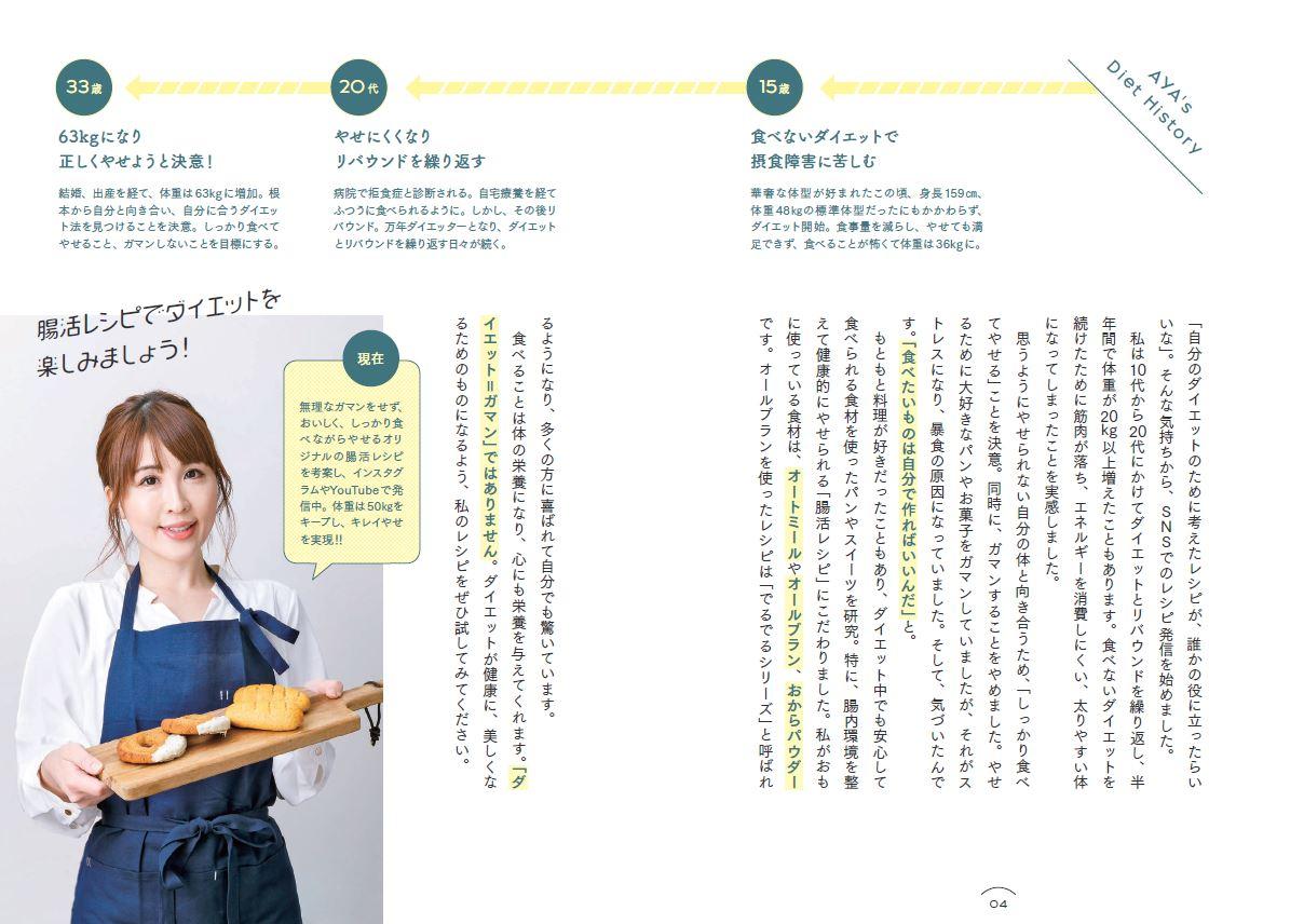 「AYA Diet History」紙面