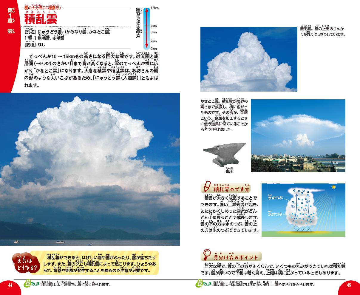 「積乱雲」紙面