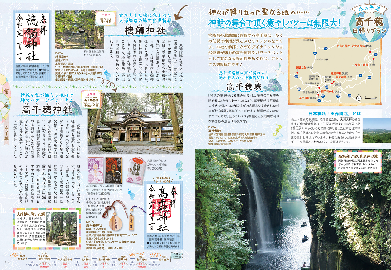 「水にまつわるお寺と神社」紙面