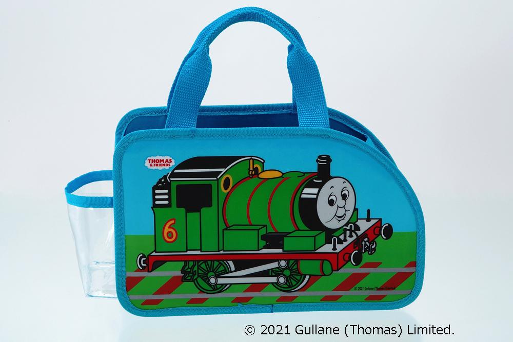 「トーマス&パーシー なかよしおでかけバッグ」パーシー 画像